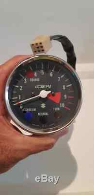 Suzuki Gt185 Gt / Rv / Tc / Ts125 Ts185 Nos Tachometer 34201-36322