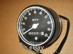Suzuki N ° Tachymètre Vintage Ts250 1969-1970 34100-16610