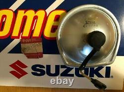 Suzuki Nos Nla 71-74 Lampe Frontale Gaucho Ts50 6v 15/15 35121-22610