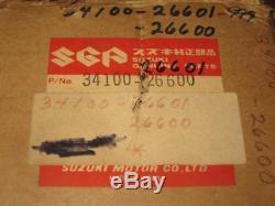 Suzuki Nos Vintage Compteur De Vitesse Mt50 Ts50 34100-26600