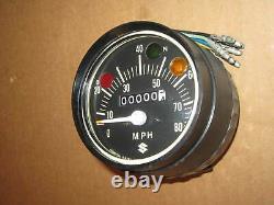 Suzuki Nos Vintage Speedometer Mt50 Ts50 34100-26600