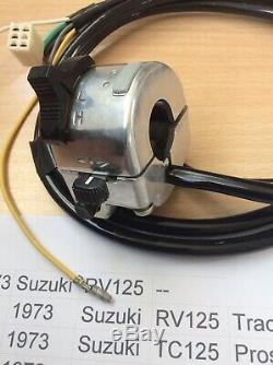 Suzuki Rv125 Ts125 Tc125 Ts185 Ts250 Commutateur 57700-28610 S / S 57700-28611