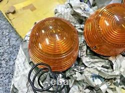Suzuki T20 T250 T350 T500 Ts100 Ts125 Ts185 Ts250 Turn Signal Winker Lampe Nos X3