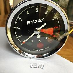 Suzuki T250 T305 Tc250 Tc305 Tacho Tachymètre Tachymètre T500 Cobra Ts250