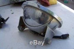 Suzuki Tc Phare Ts Lampe Frontale (testé Condition De Travail) Vintage