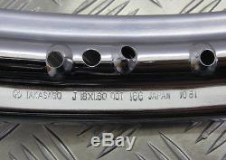 Suzuki Tc100 / Tc125 / Ts100-ts185, Nouvelle Jante De Roue Arrière Oem 18x1.6, 65311-29022