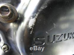 Suzuki Ts 125 Ac Refroidi À L'air Unité Moteur 9585 Miles 2002