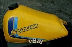 Suzuki Ts 125 Erz Réservoir D'essence Très Bon État 1983
