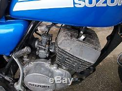 Suzuki Ts 125 Pas Yamaha Dt Mot Jusqu'à Août 2018 Prêt À Profiter Peut Livrer
