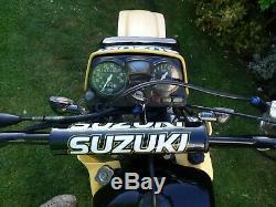 Suzuki Ts 125 X Tsx Vintage Classique Enduro