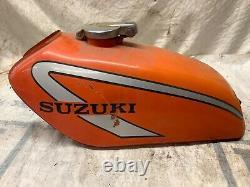 Suzuki Ts 185. Réservoir