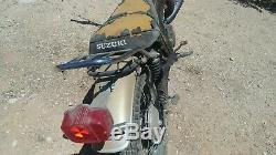 Suzuki Ts 250 Savage Race Pipe Bassani MX Echappement Vintage Ahrma