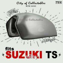 Suzuki Ts100 Ts125 Ts185 Ts250 Ts Fuel Gas Réservoir À Essence Champ Scrambler Tracker