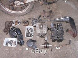 Suzuki Ts125 Er Châssis Roulant Moteur Bits De Rechange Échappement Réparation Colchester