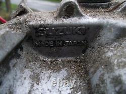 Suzuki Ts125 Moteur Complet Crankcase Crank Gearbox Kickstart