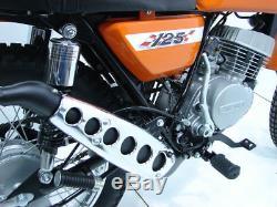 Suzuki Ts125 Tc125 Echappement Chromé Longue Couverture