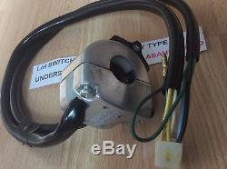 Suzuki Ts125 Tc125 Ts185 Ts250 Interrupteur De Poignée Pt 57700-25600 S / S 57700-28643 Nouveau