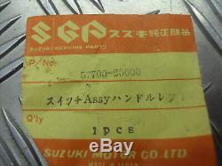 Suzuki Ts125 / Tc125 / Ts185 / Ts250, Nouvelle Poignée De Commutateur À Gauche, 57700-25600