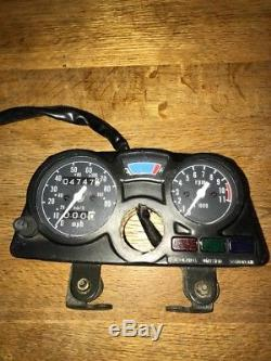 Suzuki Ts125r Speedo Horloges Console Compteur De Vitesse Instrument Jauges