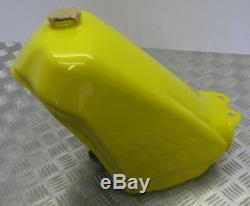 Suzuki Ts125x, Nouvel Assemblage De Réservoir De Carburant D'origine, Jaune, 44100-01a00-163
