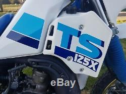 Suzuki Ts125x Tsx Ts125 Faible Kilométrage Survivior