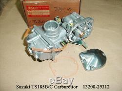 Suzuki Ts185 Carburateur 1977-1979 Nos Ds185 Carb 1978-1990 Carburateur 13200-29312