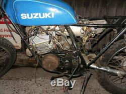 Suzuki Ts185 Modèle C Pièces De Rechange De Réparation Grange V5 Trouver Actuelle Colchester