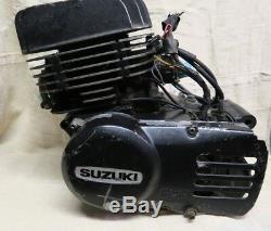 Suzuki Ts185 Moteur Complet Avec Boîte De Vitesses, Etc. 1977 À 1981
