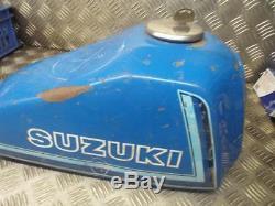 Suzuki Ts185 Ts 185 1980-1981 Réservoir D'essence À Essence Avec Bouchon Et Clé