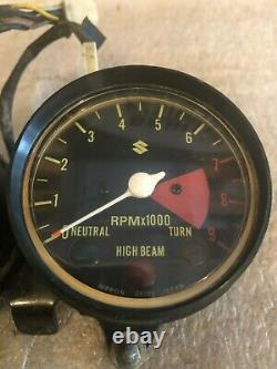 Suzuki Ts250 Ts 250 Mètres Jauges Savage Horloge Tachymètre Compteur De Vitesse