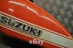 Suzuki Ts250r Ts 250 Savage 1971-onwards Très Rare Essence Gaz Du Réservoir De Carburant