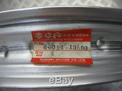 Suzuki Ts250x 1984, Nouvelle Jante De Roue Arrière Originale 2.15x17, 65311-13a00