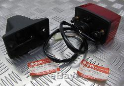Suzuki Ts250x, Nouvelle Unité Originale De Support Et De Lampe Arrière 35720-13a20 / 35730-13a00