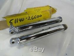 Suzuki Ts50 Gauche Et Droite Fourchette Inférieure De La Jambe Set 72-1974 51140-26600 51130-26600