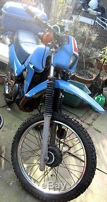 Suzuki Ts50sx 50cc Essais Motorbike A Besoin De Réparations Moteur. Nwc London