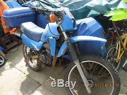 Suzuki Ts50sx 50cc Trials Motorbike A Besoin De Réparations Sur Le Moteur. Nwc Londres