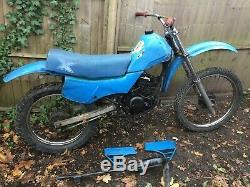 Suzuki Ts50x 1986 Enduro Bike 50cc Pour La Restauration Avec Des Pièces Manquantes Mais V5c