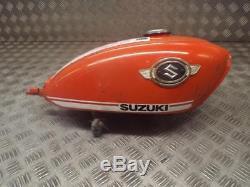 Suzuki Ts90 Ts 90 1970 Carburant Essence Réservoir De Carburant Rare