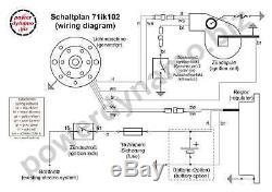 Système D'allumage Powerdynamo Vape Stator Suzuki Rv125 Rv 125 Ts125 Ts 125 DC