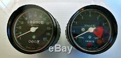 Tachymètre De Compteur De Vitesse Suzuki 72-77 Ts400 Nos Oem Ts-400 34101-32611 / 34200-32600