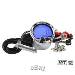 Tachymètre Tachymètre De Koso Chrome Dl-02s Quadri Roller Numérique LCD