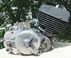 Ts400 Suzuki Motor Engine 1975 Excellente Compression Vintage Enduro Core Engine