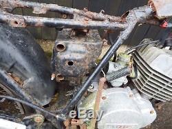 Vélo De Chantier Suzuki Ts125j Project