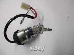 Véritable Interrupteur D'allumage D'origine Oem Suzuki 71-73 Ts185 Ts250 Savage 37110-30612 Nos