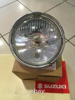 Véritable Phare Suzuki Front Headlamp Ts100er Ts125er Ts185er Ts250er 79-81